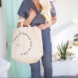 FIGS canvas tote bag